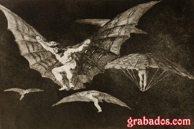 Aguatinta de Goya